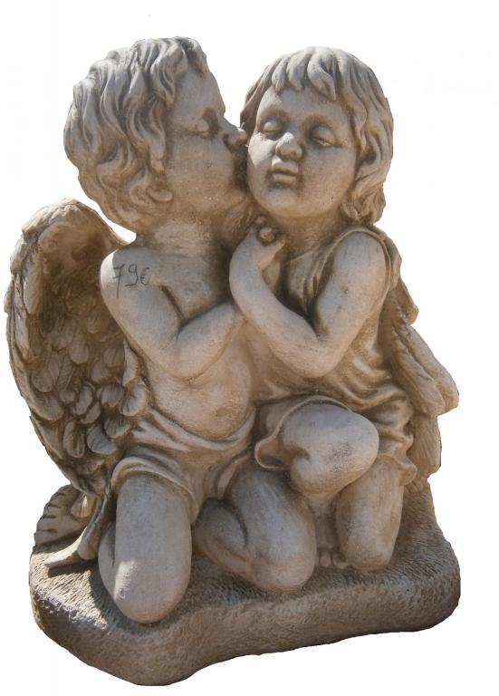 Statues d 39 anges - Statue d ange pour exterieur ...