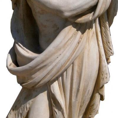 Statue en pierre reconstituée