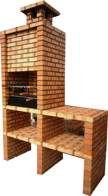 barbecue en brique. Black Bedroom Furniture Sets. Home Design Ideas