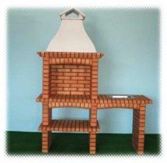 barbecue en brique 129. Black Bedroom Furniture Sets. Home Design Ideas