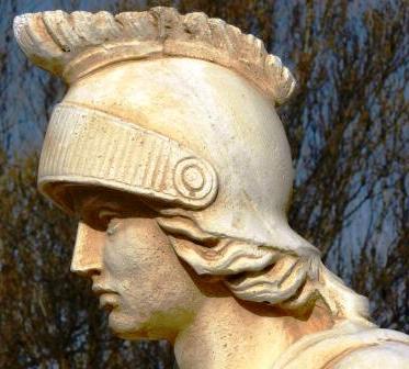 Statue soldat romain