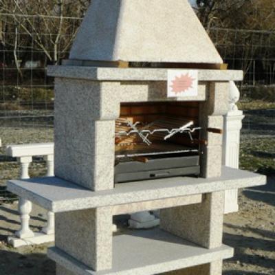 Barbecue en granit
