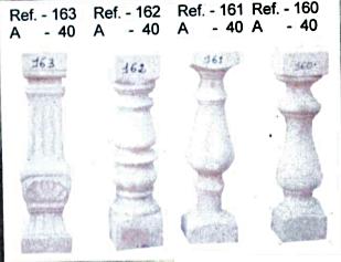 Modèle de balustres de 40 cm de haut