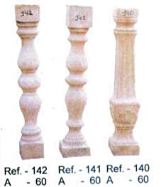 Modèle de balustres de 60 cm de haut