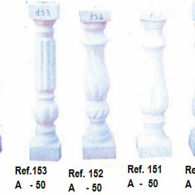 Modèle de balustres de 50 cm de haut