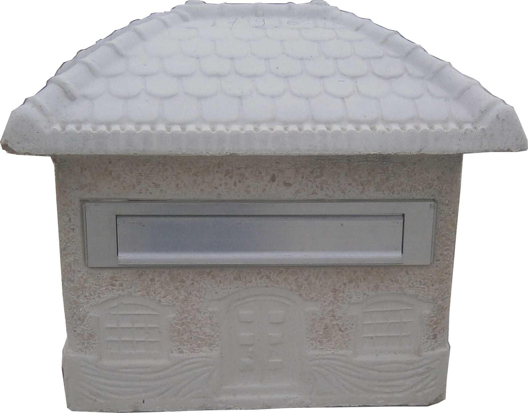 Boite aux lettre en forme de maison - Vieille boite aux lettres ...