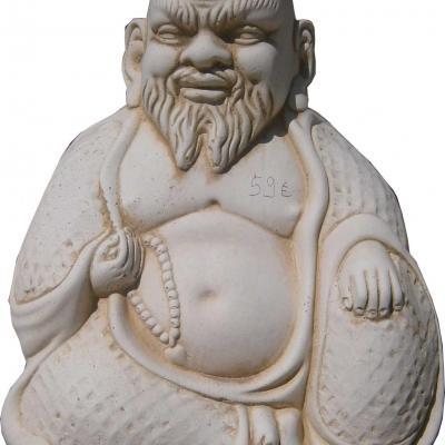 Bouddha en pierre reconstituée
