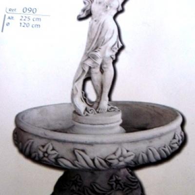 Fontaine détail venus