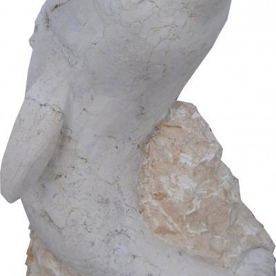Dauphin en pierre naturelle