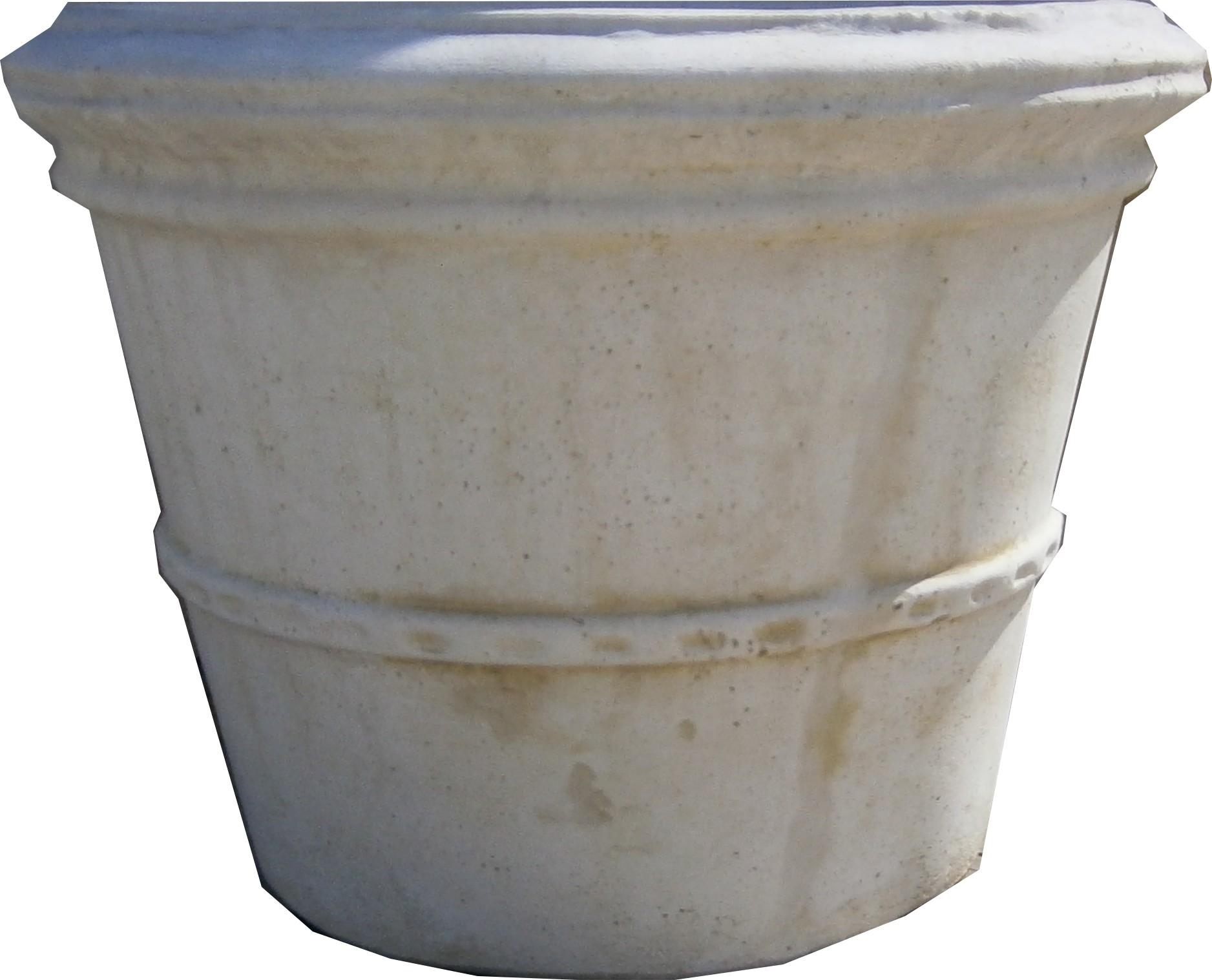 Gros pot en pierre reconstitu e for Gros pot decoratif exterieur