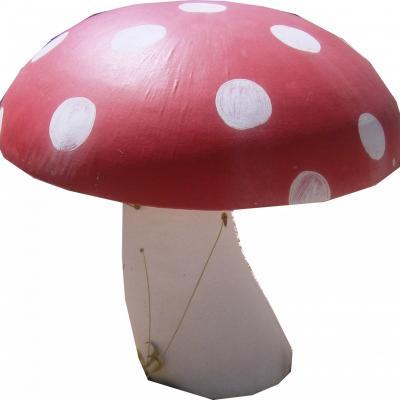 Gros champignon