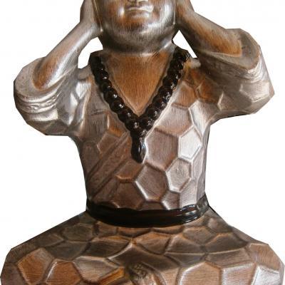 Petit bouddha en céramique