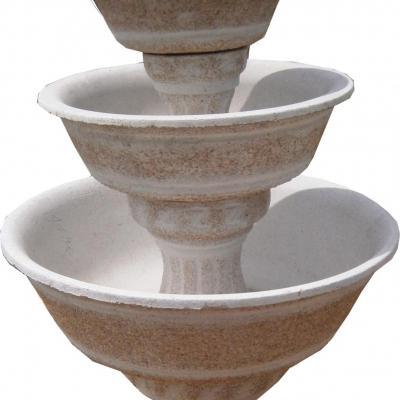 Petite fontaine à 3 vasques