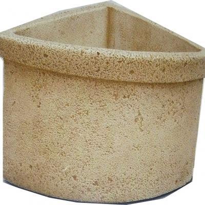 Pot a fleurs d'angle