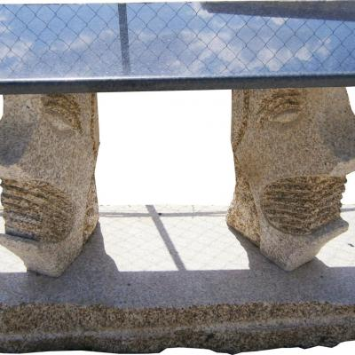 Magnifique table en granit