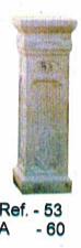 Petit pilier en pierre reconstituée