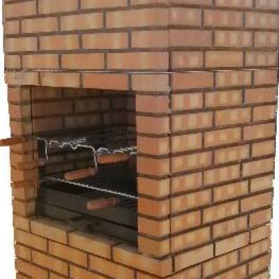 Barbecue en briques