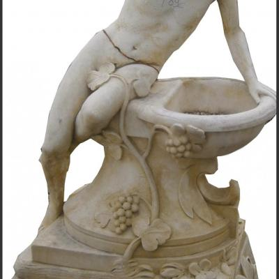 Fontaine en pierre reconstituée
