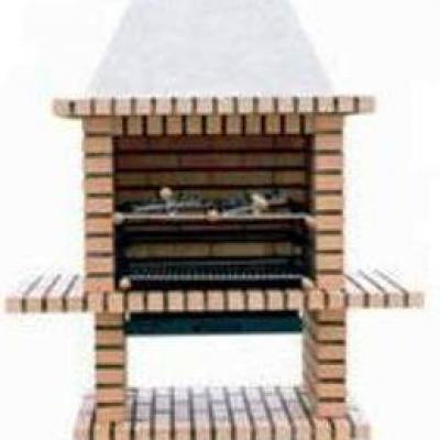 Super barbecue en brique réfractaire