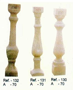 Modèle de balustres de 70 cm de haut