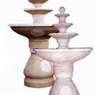 Fontaine à 3 vasques