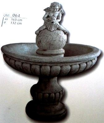 Fontaine détail ange