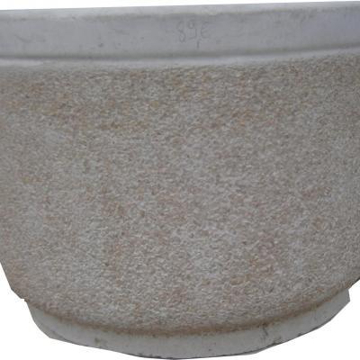 Gros pot en pierre reconstitué