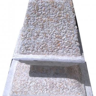 Petite déco de poutre en pierre reconstituée
