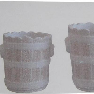 Pot en pierre reconstituée