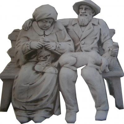 Couple de personne âgé