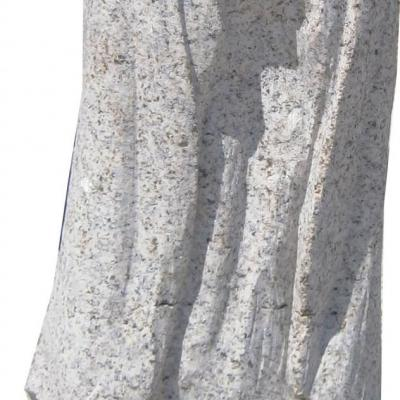 Petite vierge en granit